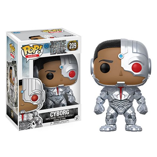 Justice League Movie Cyborg Pop! Vinyl Figure