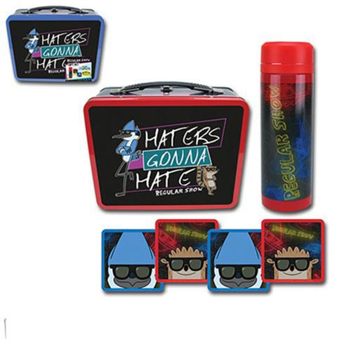 Regular Show Haters Gonna Hate Tin Tote Gift Set - Convention Exclusive
