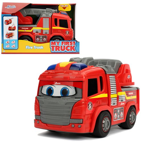 My First Truck Motorized Fire Truck with Lights and Sounds