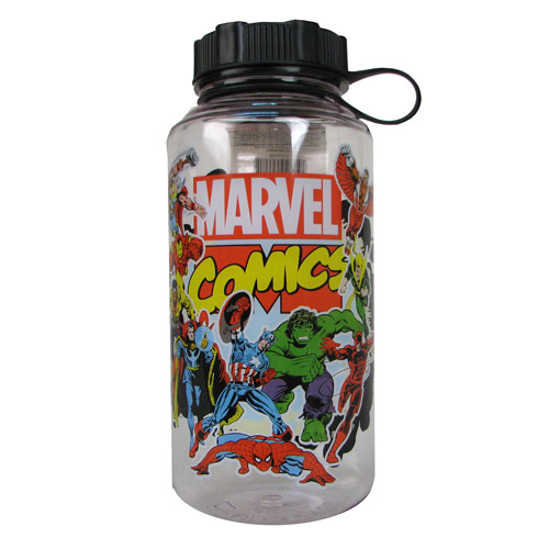 Marvel Comics Group Shot 20 oz. Plastic Water Bottle