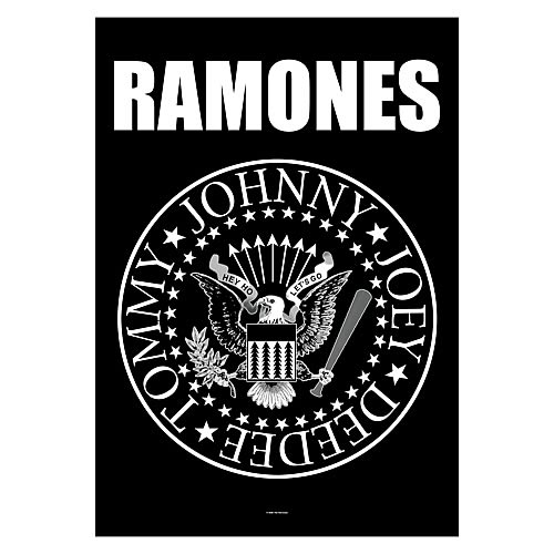 Ramones Eagle Logo Fabric Poster Wall Hanging
