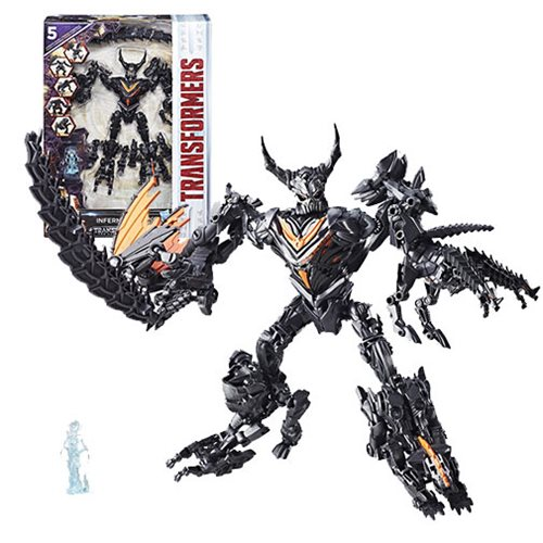 Transformers The Last Knight Mission to Cybertron 5-Bot Combiner Infernocus - Toys R Us Exclusive