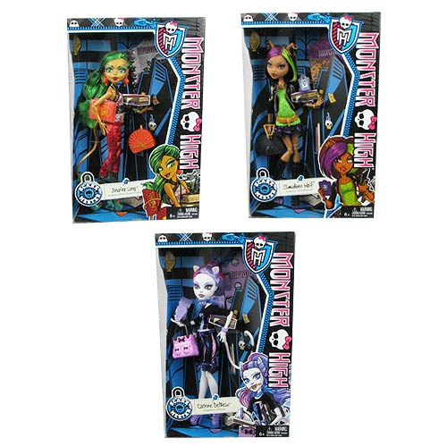 Monster High Doll Scaremester Wave 1 Case
