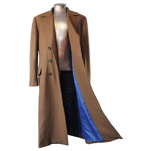 Doctor Who Tenth Doctor's Coat Replica