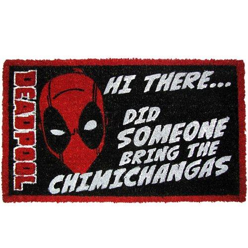 Deadpool Chimichanga Coir Doormat