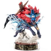 Okami Amaterasu Wolf Form Special Edition Painted Statue