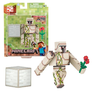Minecraft Population Iron Golem with Accessory 3-Inch Action Figure