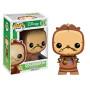 Beauty and the Beast Cogsworth Pop! Vinyl Figure