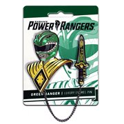 Mighty Morphin Power Rangers Green Ranger Lapel Pin Set