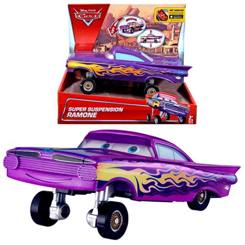 Disney  Cars Ramone Super Suspension Purple Large Car Vehicle Toy