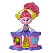 Trolls World Tour Party DJ Poppy Fashion Doll with Musical DJ Station
