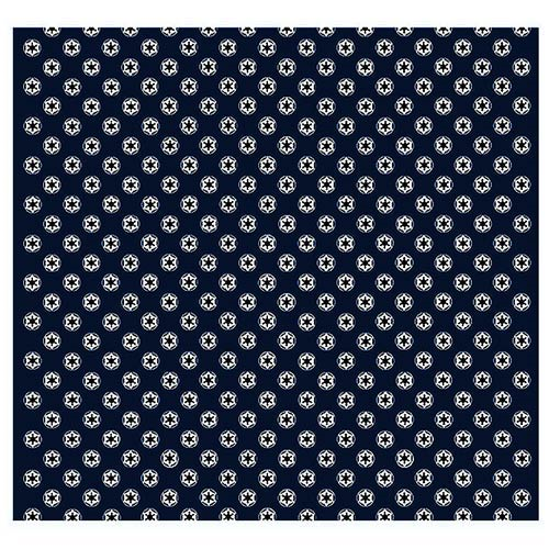 Star Wars Imperial Symbol Pattern Navy Italian Silk Pocket Square Custom Star Wars Pattern