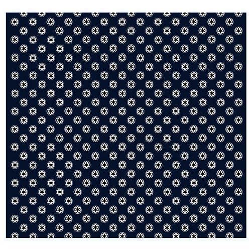 Star Wars Imperial Symbol Pattern Navy Italian Silk Pocket Square Custom Star Wars Pattern