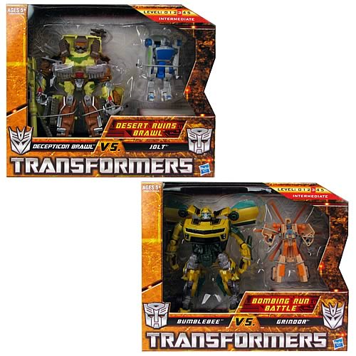 Transformers Deluxe Legend Scene Pack Set