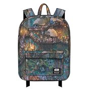 Star Wars Ewok and Troopers Print Nylon Backpack