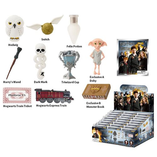 Harry Potter 3-D Figural Key Chain 6-Pack