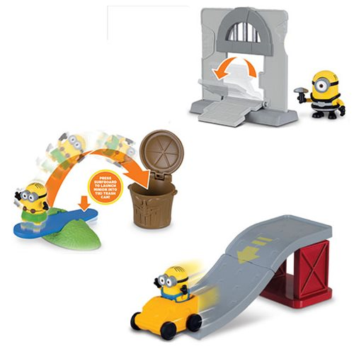 Despicable Me 3 Playset Set