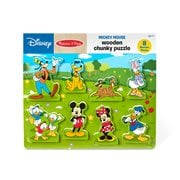 Mickey Mouse Wooden Chunky Puzzle