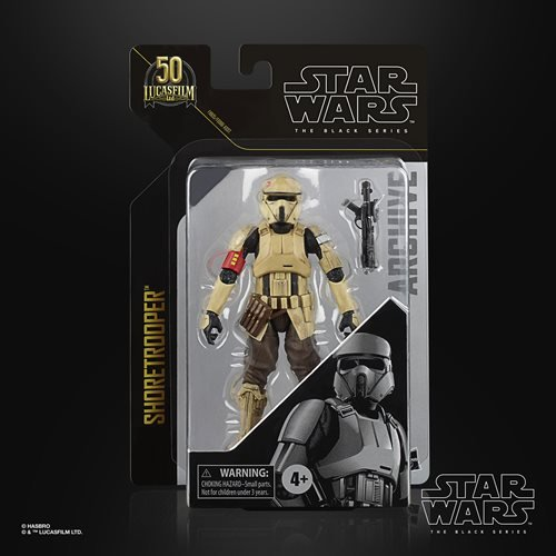 Star Wars The Black Series Archive Shoretrooper 6-Inch Action Figure