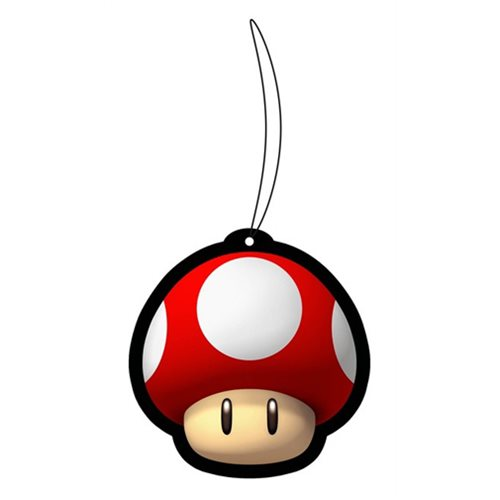 Super Mario Bros. Mushroom Air Freshener - Entertainment Earth
