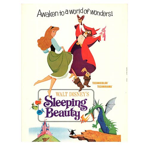 Sleeping Beauty Wood Wall Art