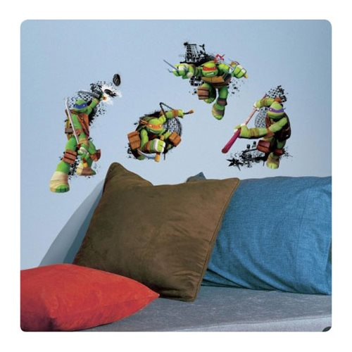 Teenage Mutant Ninja Turtles In Action Giant Wall Decals