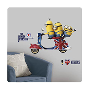 Minions The Movie Peel and Stick Giant Wall Decal