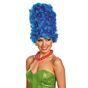 The Simpsons Marge Deluxe Glam Adult Roleplay Wig