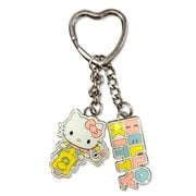 Hello Kitty Adventure Metal Multi-Charm Key Chain