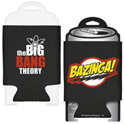 Big Bang Theory Bazinga! Logo Beer Can Hugger