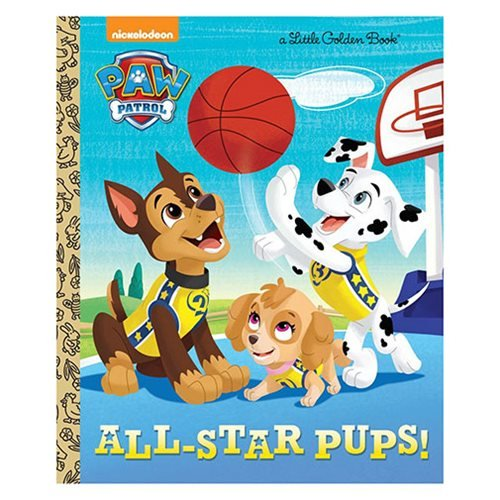 Paw Patrol All Star Pups Little Golden Book
