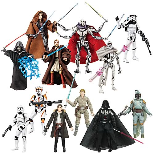 Star Wars Action Figures Vintage Wave 2 Case