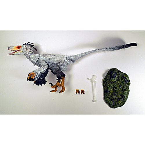 Beasts of Mesozoic Raptor Series Zhenyuanlong Brown 1:6 Action Figure