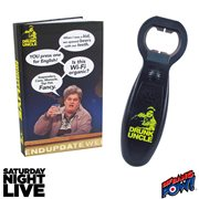 Saturday Night Live Drunk Uncle Journal and Bottle Opener with Sound - Convention Exclusive