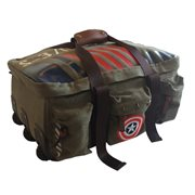 Marvel Captain America Vintage Military Army Duffle Trolley