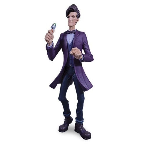 Doctor Who 11th Doctor Purple Jacket Dynamix Statue