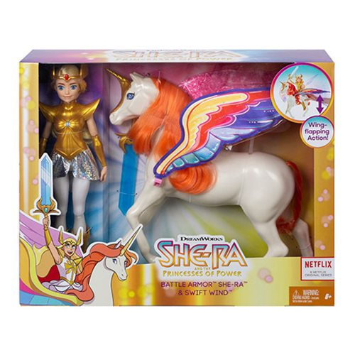 She-Ra and the Princesses of Power Battle Armor She-Ra and Swift Wind Set