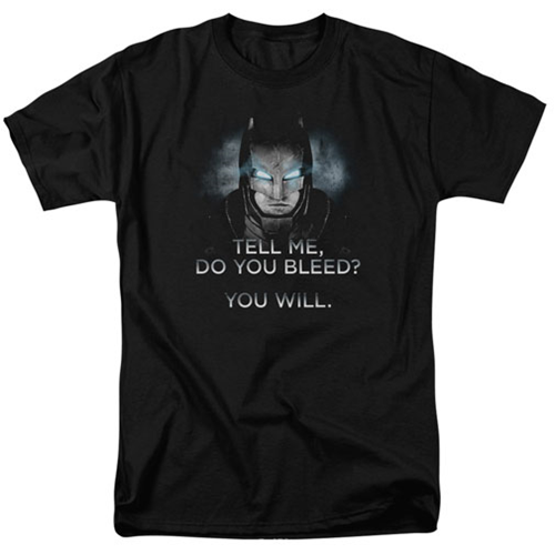 Batman V Superman Dawn Of Justice Do You Bleed T Shirt