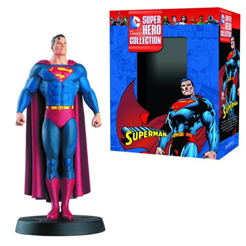 DC Superhero Superman Best Of Collector Figure with Collector Magazine