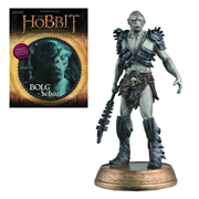 The Hobbit Bolg The Orc Figure with Collector Magazine #6, Not Mint