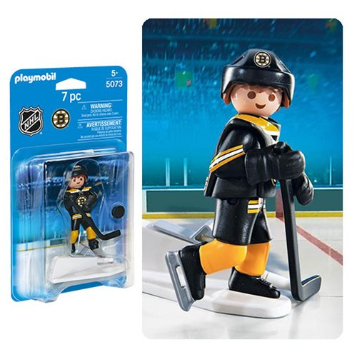 Playmobil 5073 NHL Boston Bruins Player Action Figure