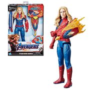 Avengers: Endgame Titan Hero Power FX Captain Marvel 12-Inch Action Figure