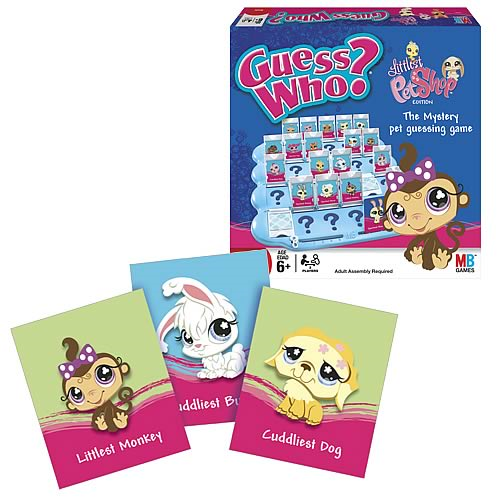 Littlest Pet Shop Guess Who Game