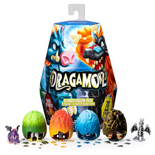 Dragamonz Ultimate Dragon Blind Pack Mini-Figure 6-Pack