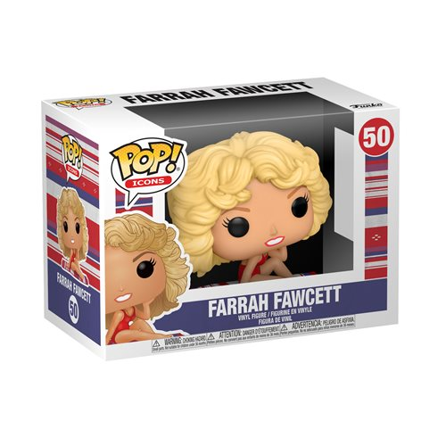 Farrah Fawcett Pop! Vinyl Figure
