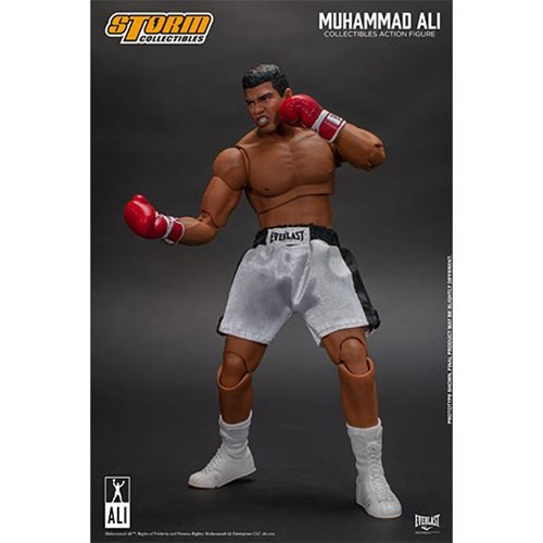 Muhammad Ali 1:12 Scale Action Figure