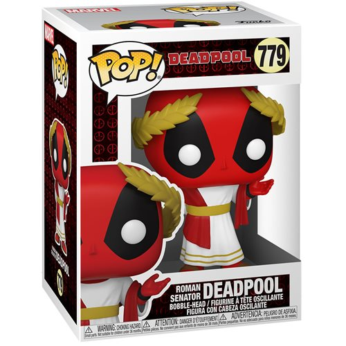 Deadpool 30th Anniversary Roman Senator Deadpool Pop! Vinyl Figure