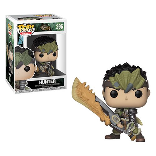 Monster Hunter Hunter Pop! Vinyl Figure #296