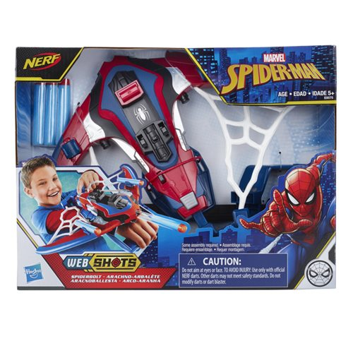 Spider-Man Web Shots Spiderbolt Blaster