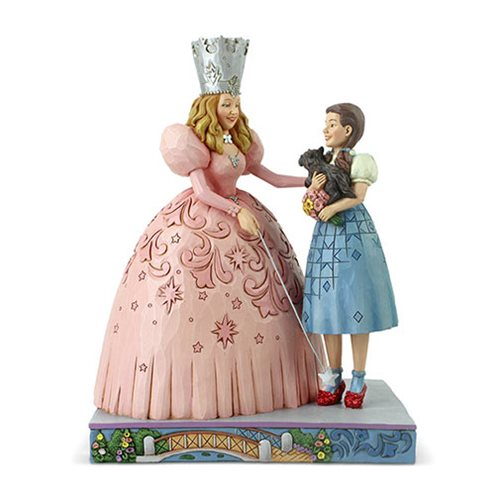 Wizard of Oz Glinda and Dorothy Ruby Slippers by Jim Shore Statue
